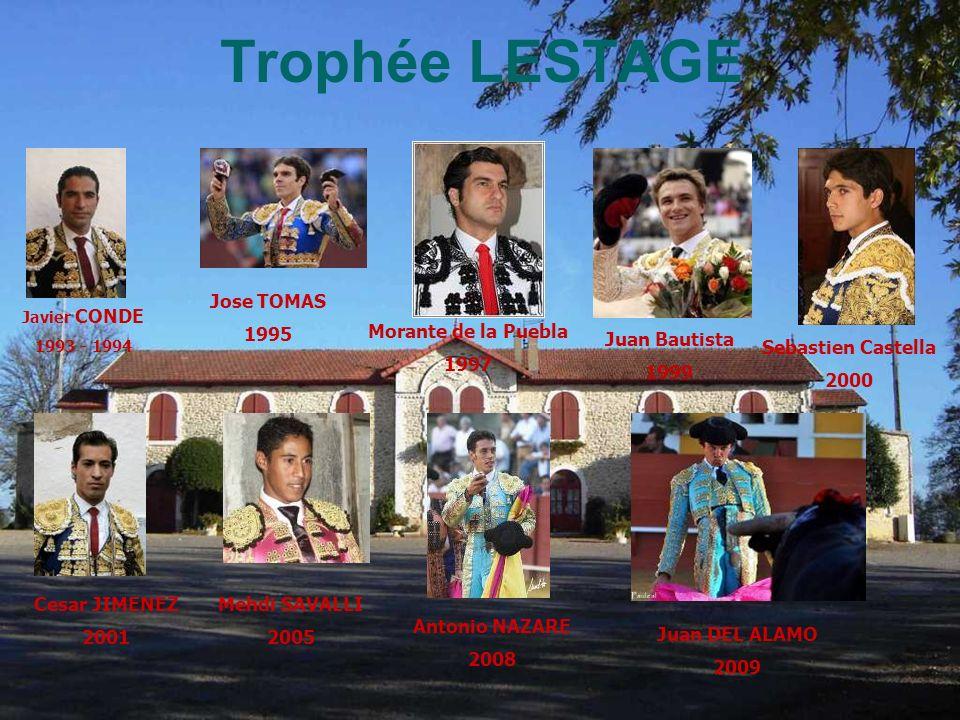 Trophée LESTAGE Cesar JIMENEZ 2001 Jose TOMAS 1995