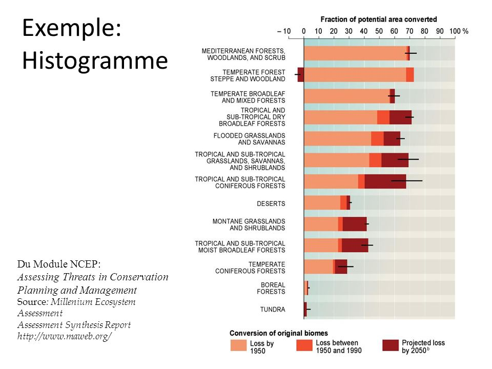 Exemple: Histogramme Du Module NCEP: