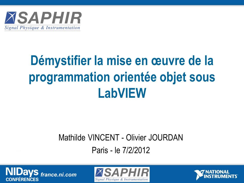Mathilde VINCENT - Olivier JOURDAN Paris - le 7/2/2012