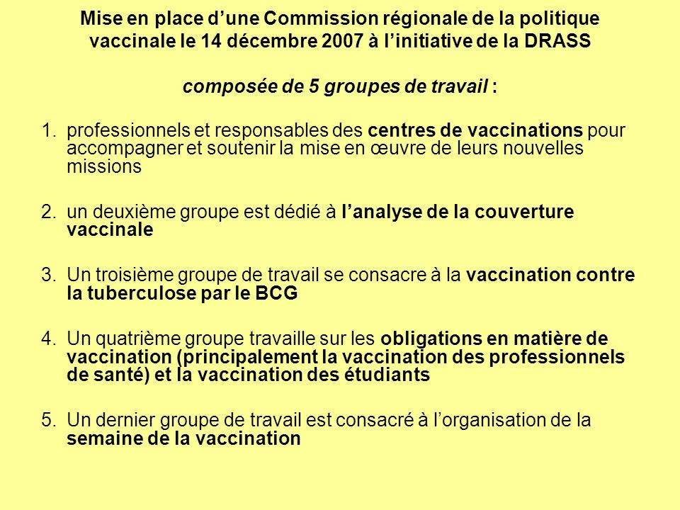 2. un deuxième groupe est dédié à l'analyse de la couverture vaccinale