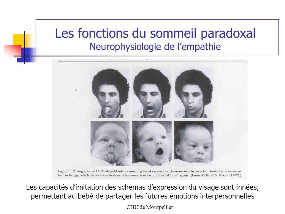 Les fonctions du sommeil paradoxal Neurophysiologie de l'empathie