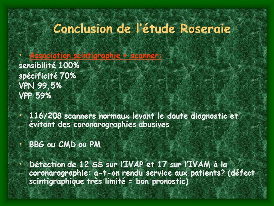 Conclusion de l'étude Roseraie