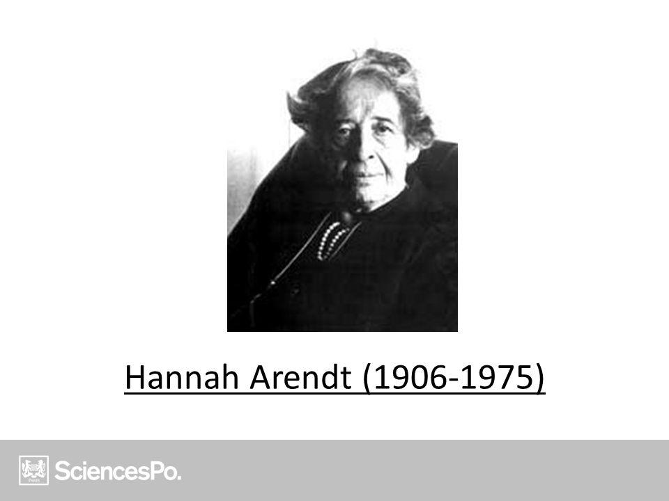 Hannah Arendt (1906-1975)