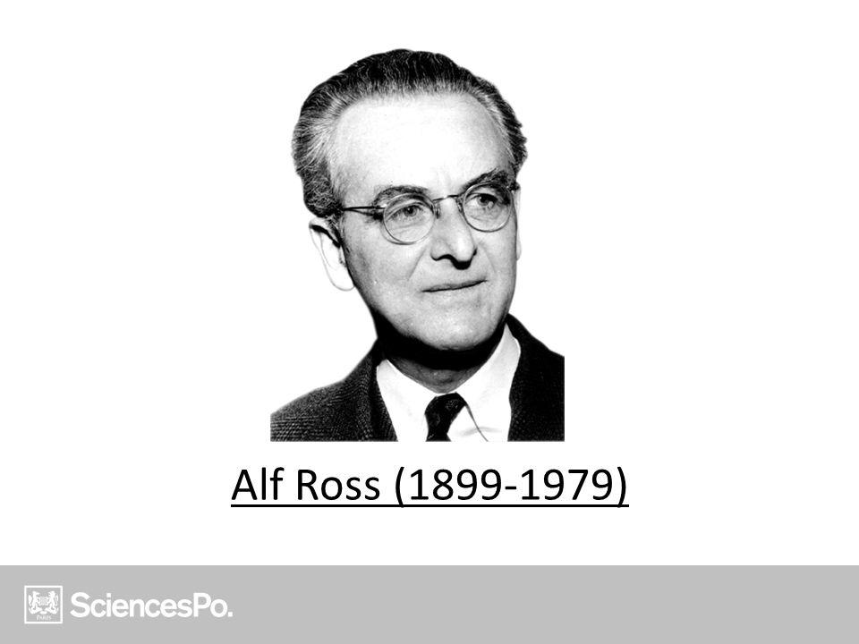 Alf Ross (1899-1979)