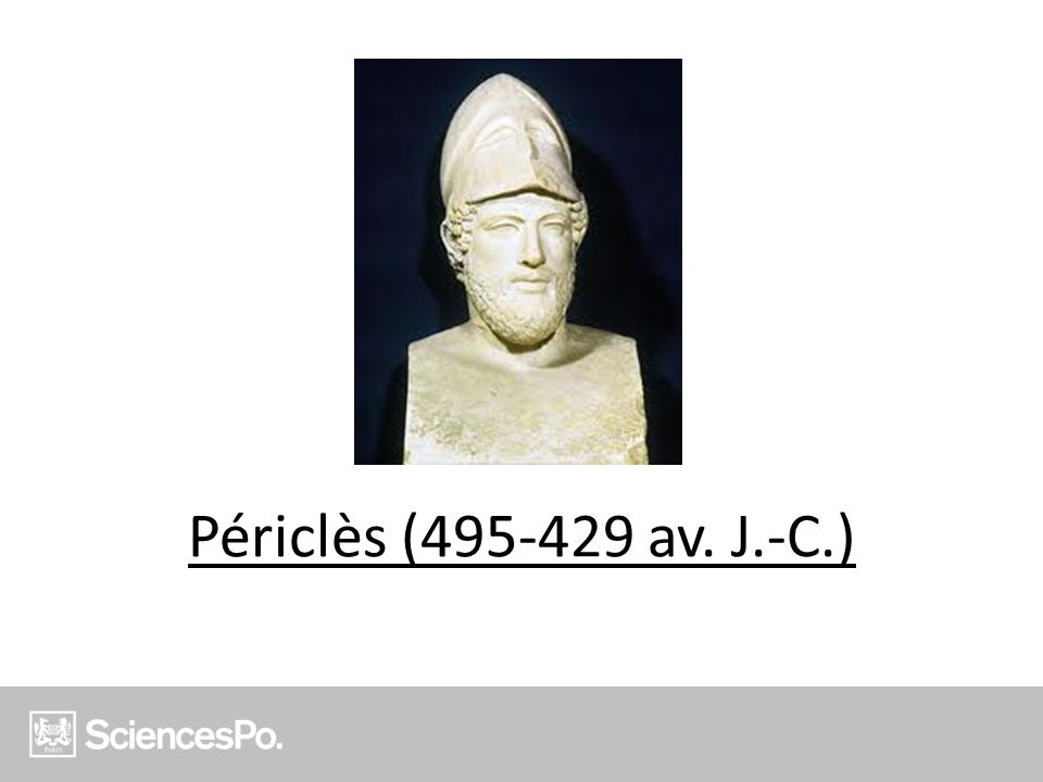 Périclès (495-429 av. J.-C.)
