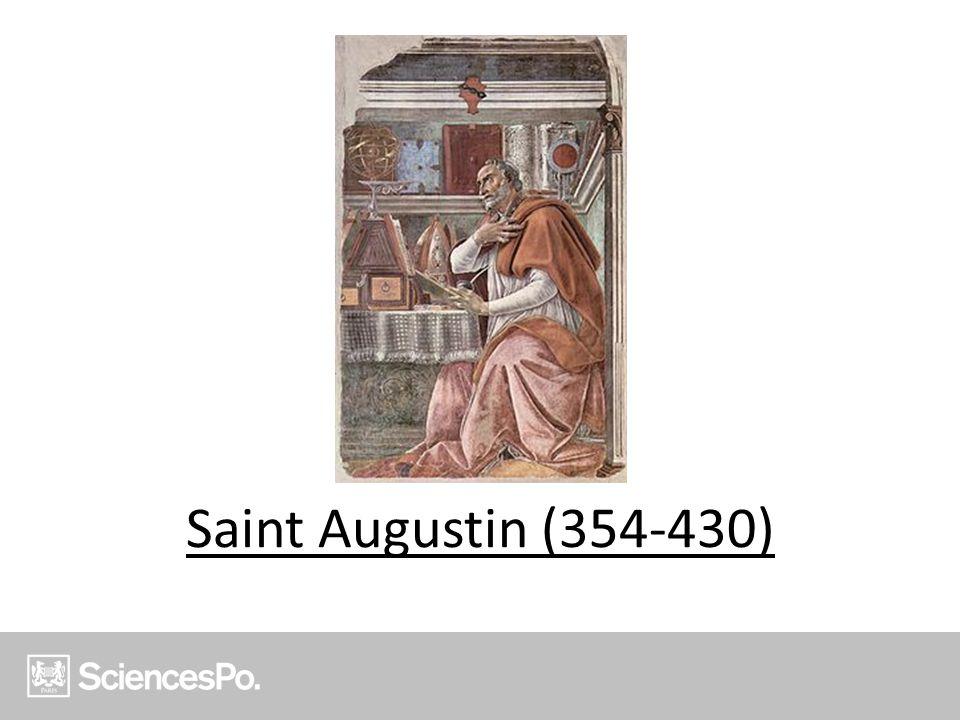 Saint Augustin (354-430)