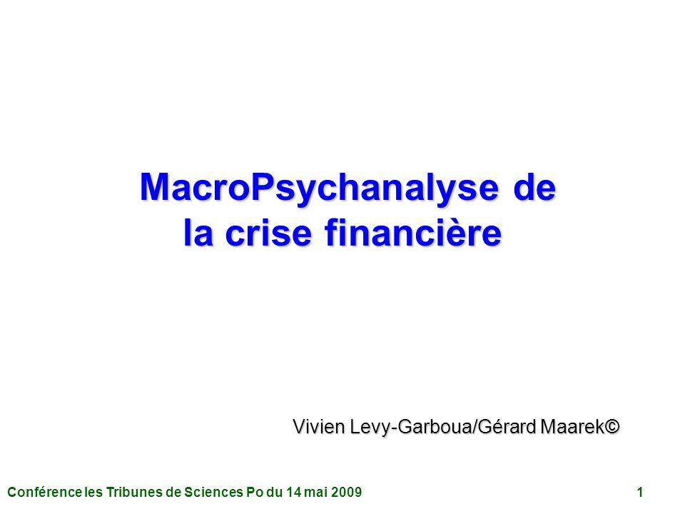 MacroPsychanalyse de la crise financière
