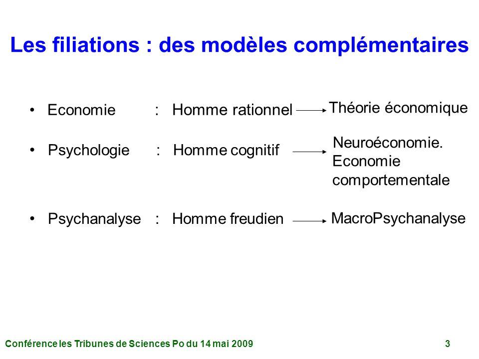 Les filiations : des modèles complémentaires