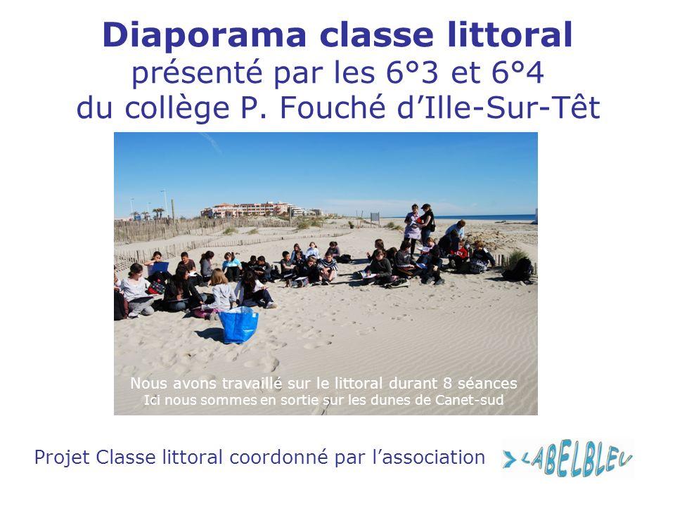 Projet Classe littoral coordonné par l'association