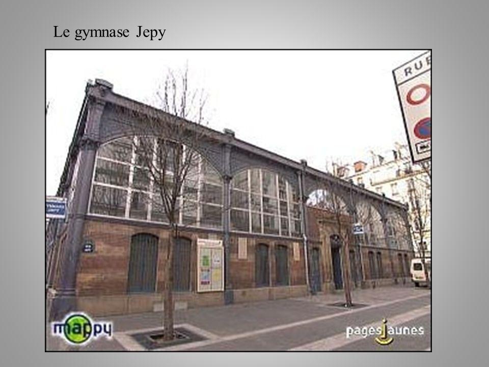 Le gymnase Jepy