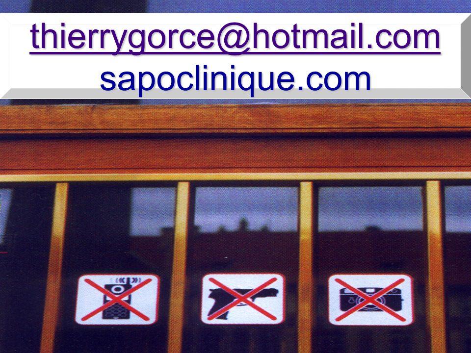 thierrygorce@hotmail.com sapoclinique.com