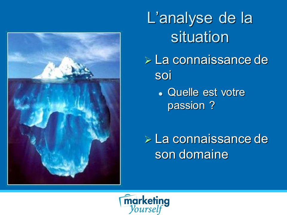 L'analyse de la situation