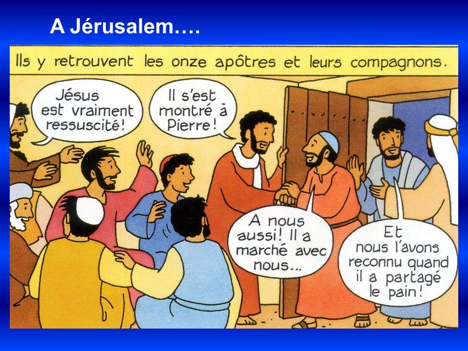 A Jérusalem….