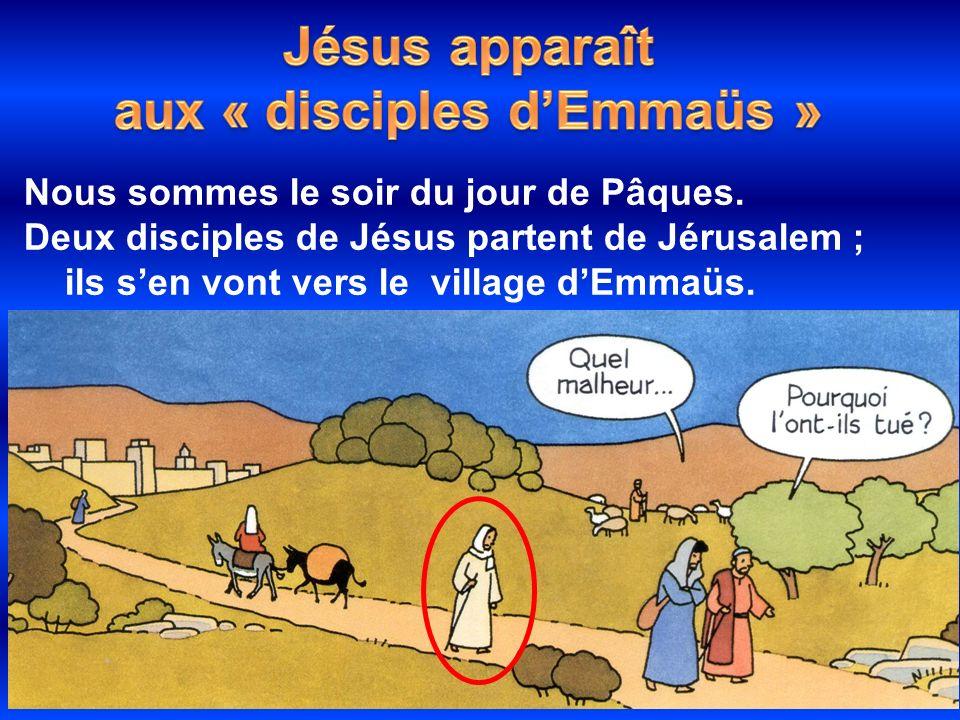 aux « disciples d'Emmaüs »