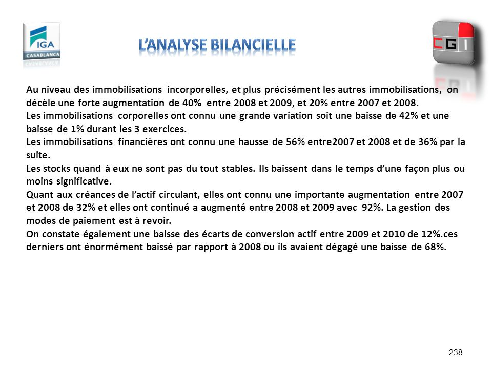 l'Analyse bilancielle