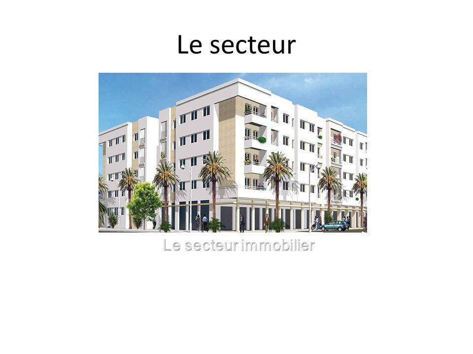 Le secteur Le secteur immobilier