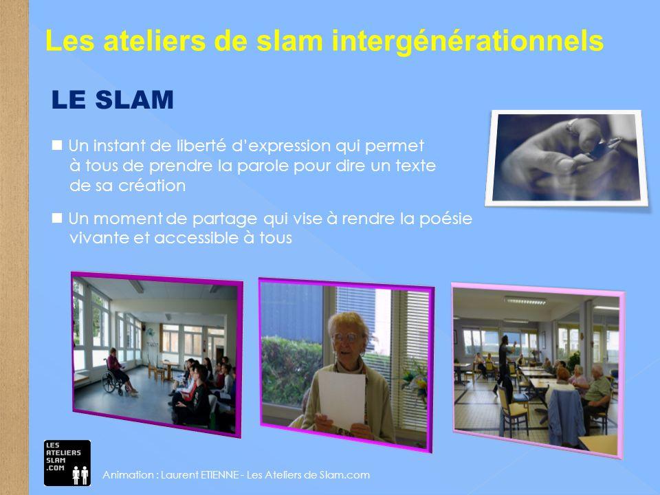 Les ateliers de slam intergénérationnels