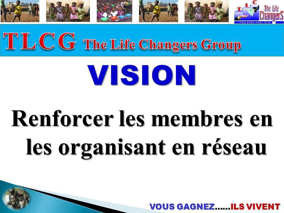 Renforcer les membres en les organisant en réseau