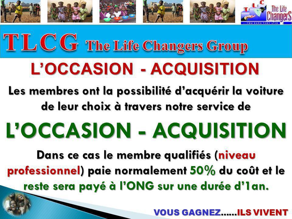 L'OCCASION - ACQUISITION