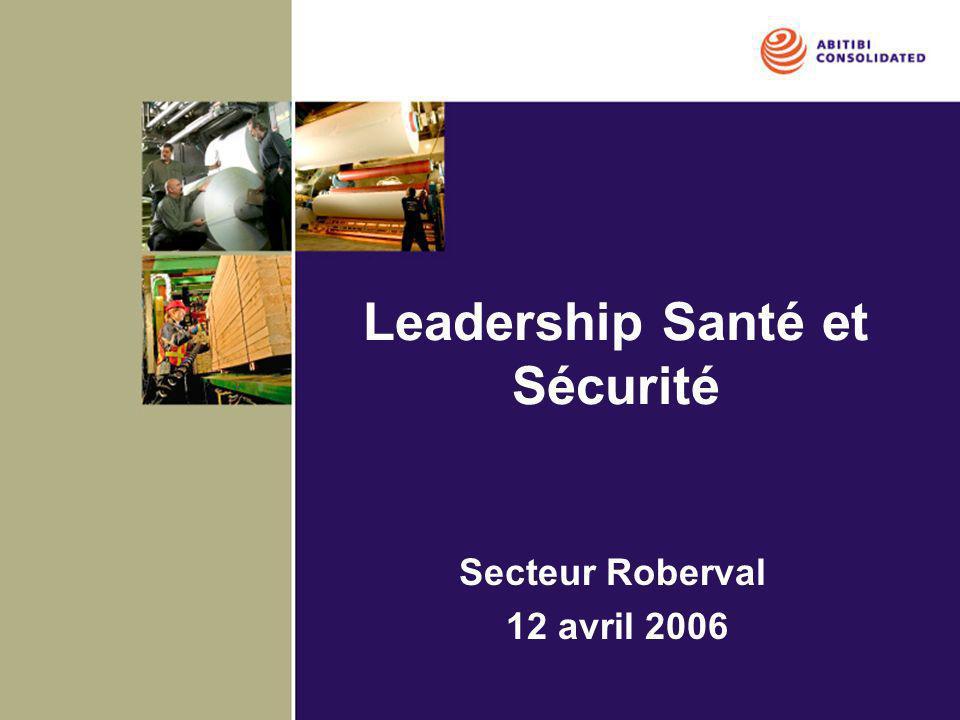 Leadership Santé et Sécurité
