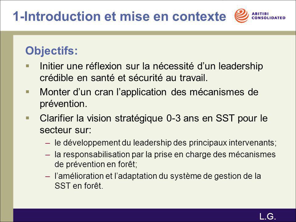 1-Introduction et mise en contexte