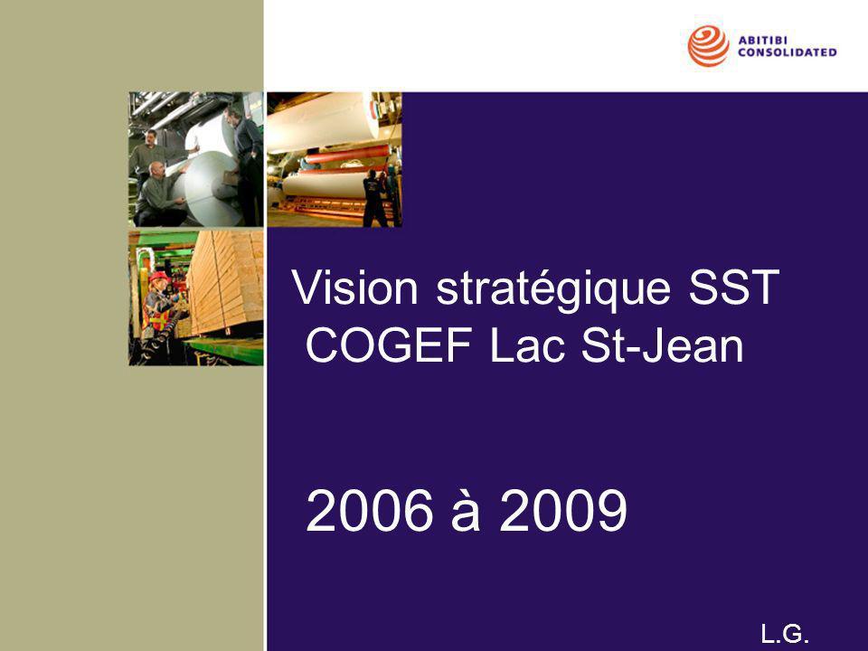 Vision stratégique SST COGEF Lac St-Jean