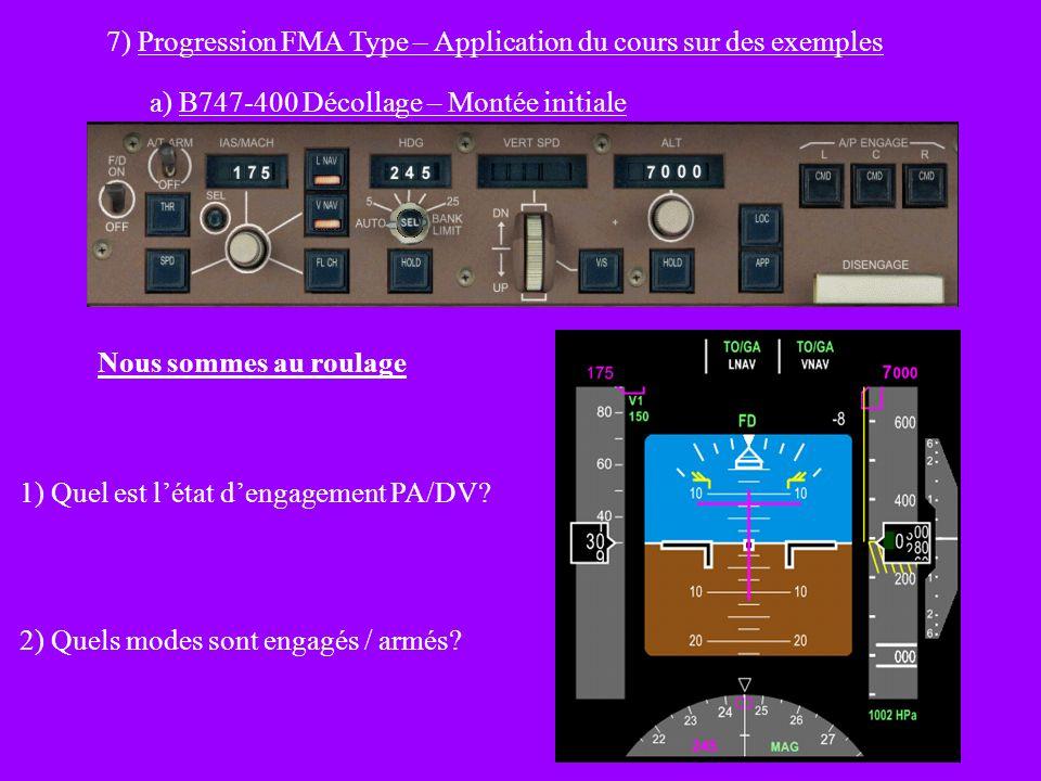 7) Progression FMA Type – Application du cours sur des exemples