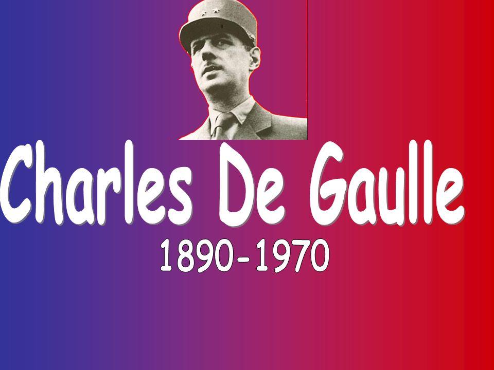 Charles De Gaulle 1890-1970