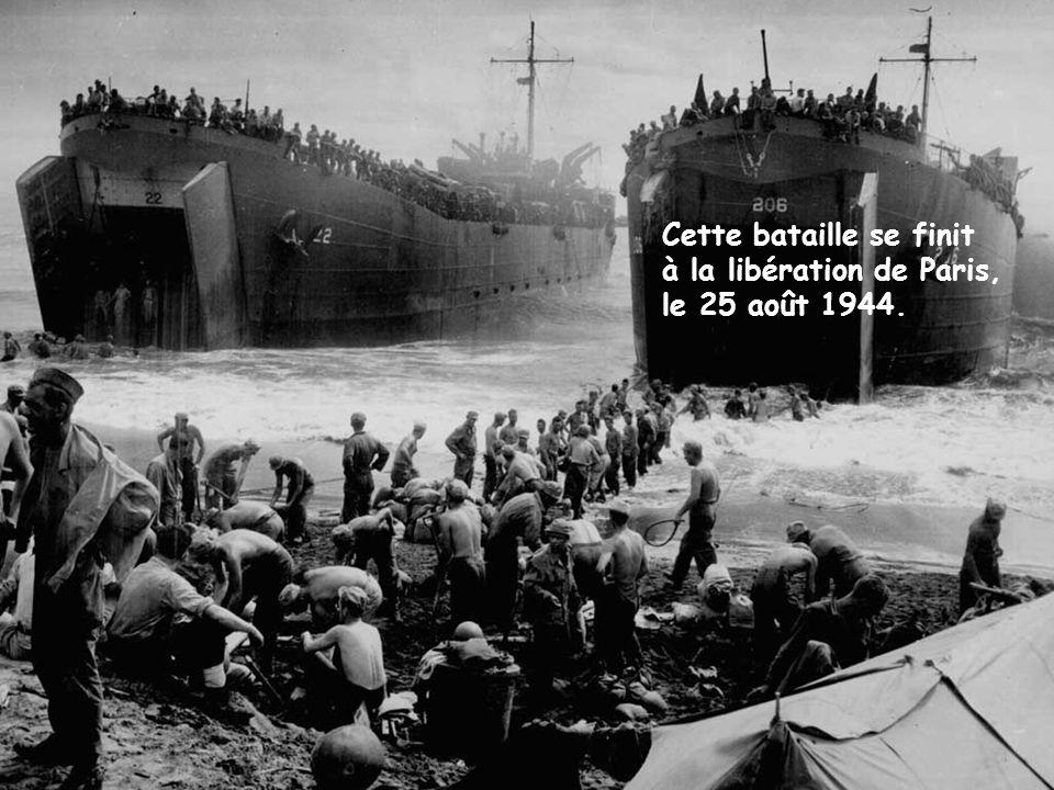 Les plages du débarquement en Normandie