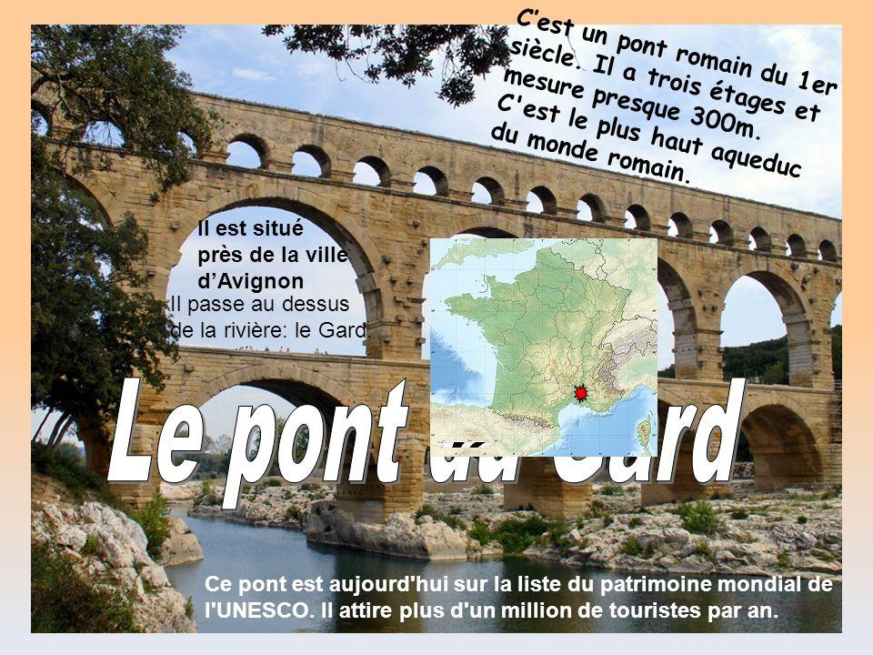 C'est un pont romain du 1er siècle