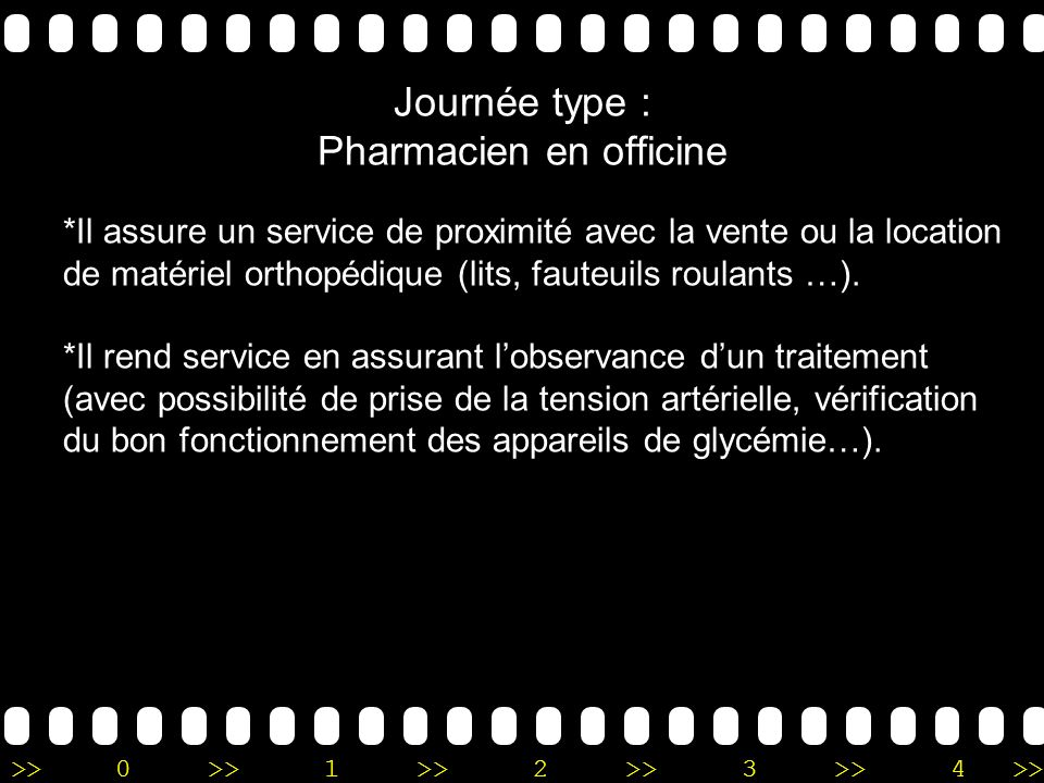 Journée type : Pharmacien en officine