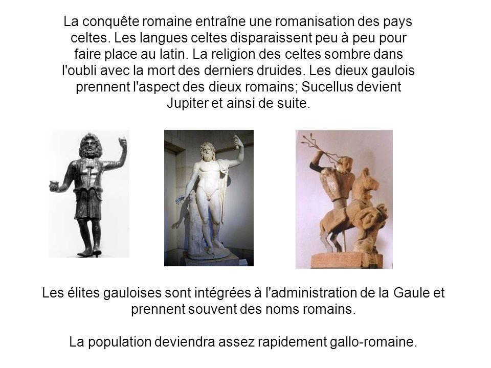 La population deviendra assez rapidement gallo-romaine.