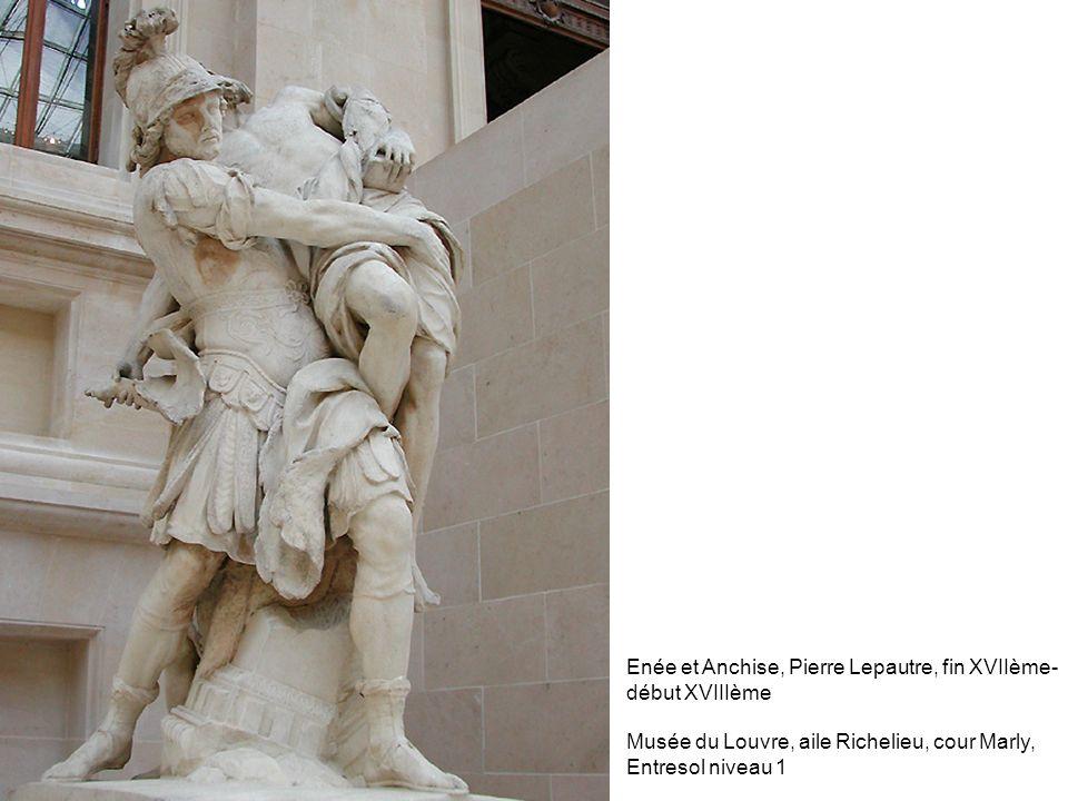 Enée et Anchise, Pierre Lepautre, fin XVIIème-début XVIIIème