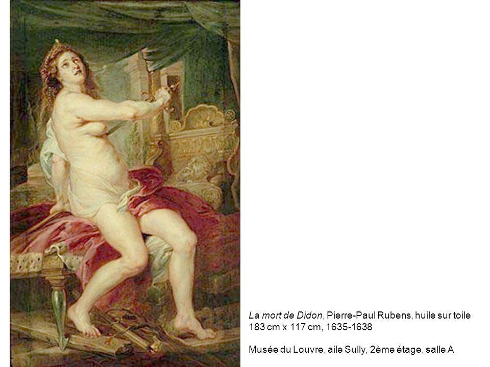 La mort de Didon, Pierre-Paul Rubens, huile sur toile 183 cm x 117 cm, 1635-1638