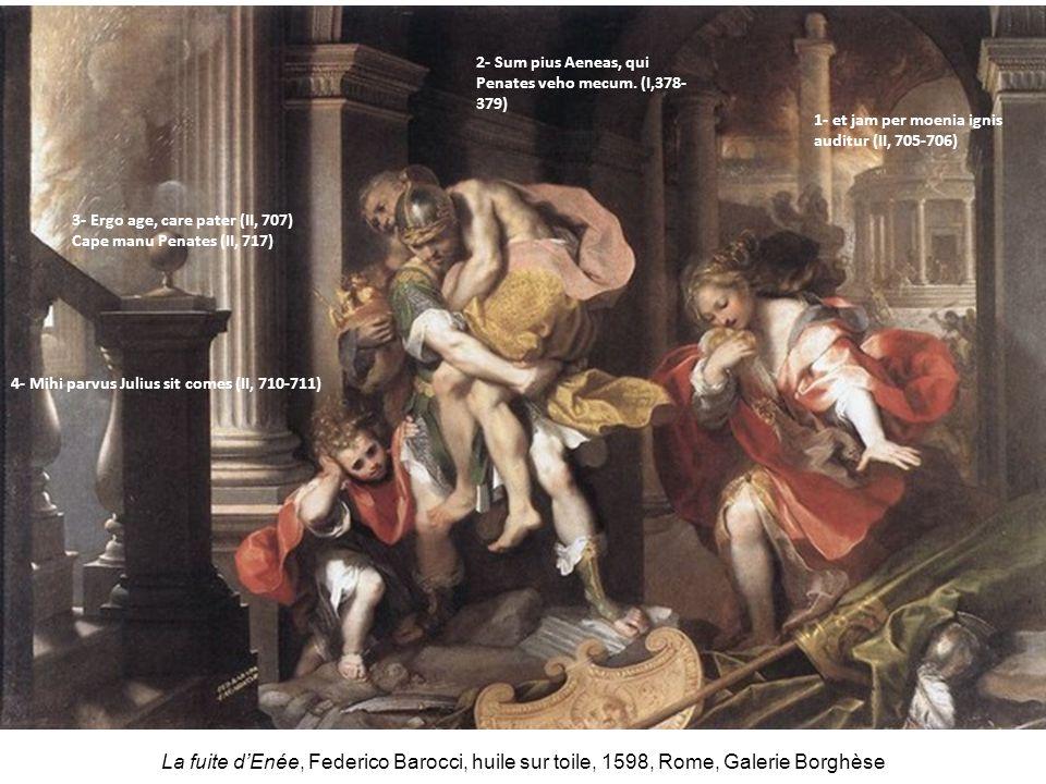 2- Sum pius Aeneas, qui Penates veho mecum. (I,378-379)