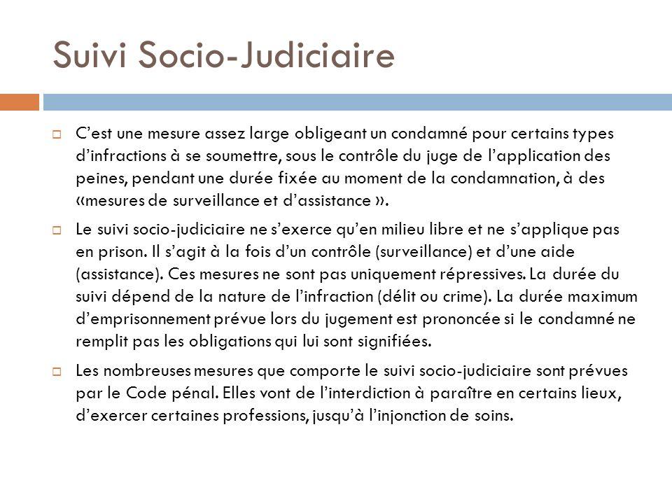 Suivi Socio-Judiciaire