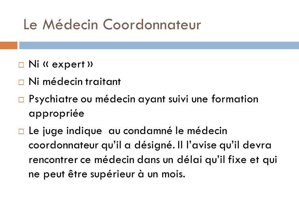 Le Médecin Coordonnateur