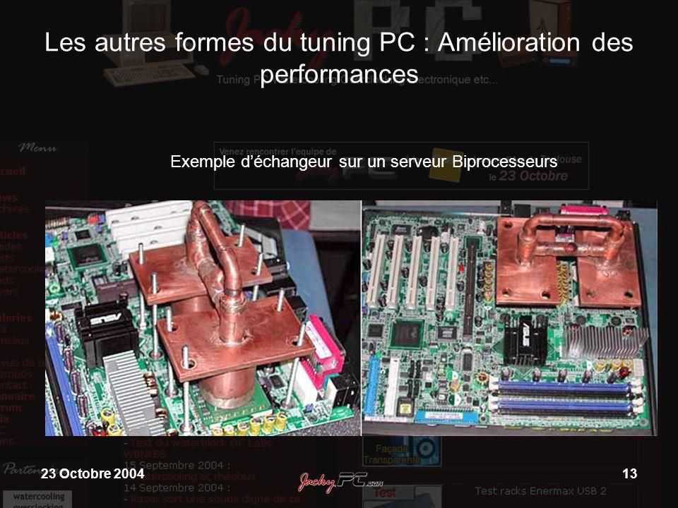 Les autres formes du tuning PC : Amélioration des performances