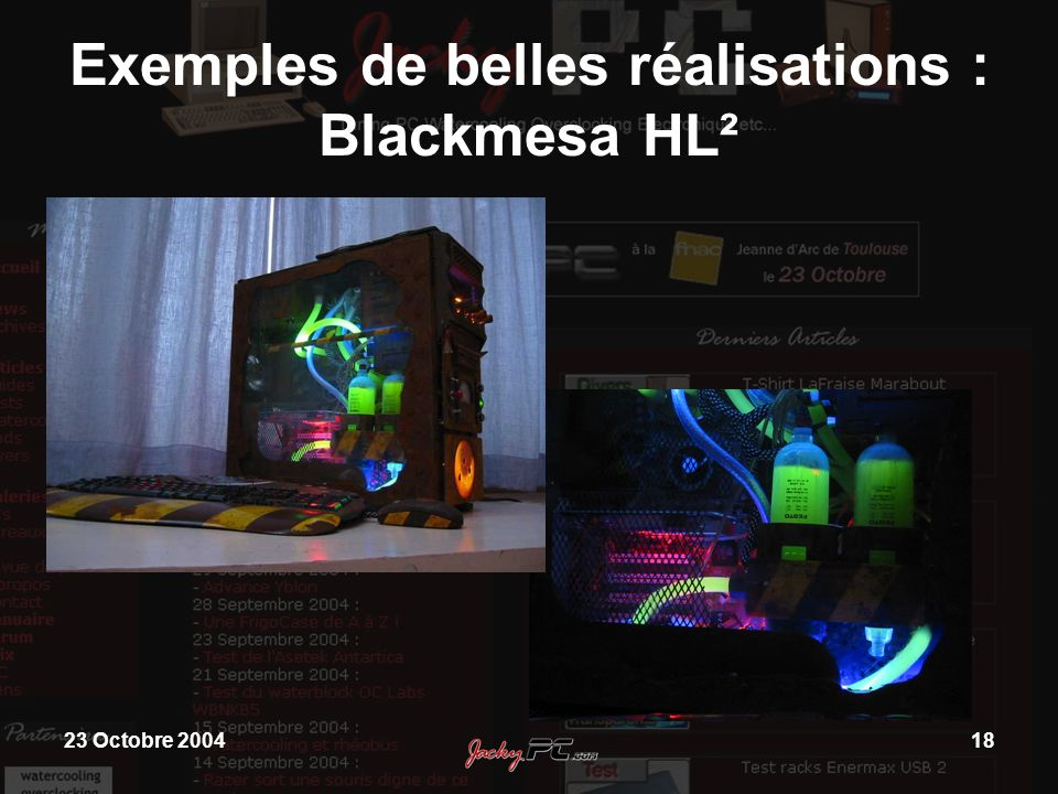 Exemples de belles réalisations : Blackmesa HL²