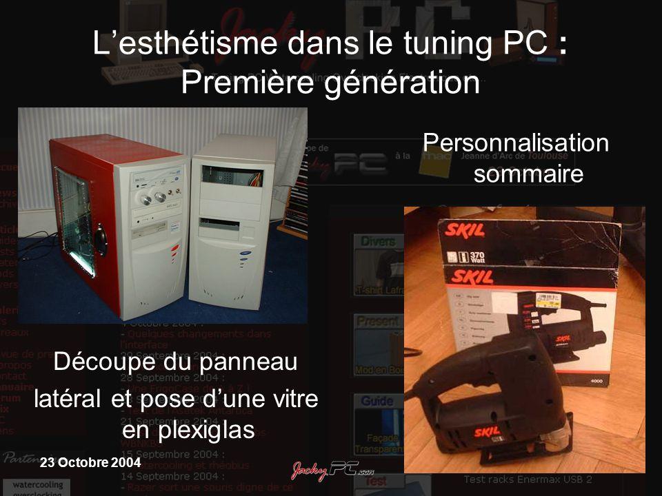 L'esthétisme dans le tuning PC : Première génération