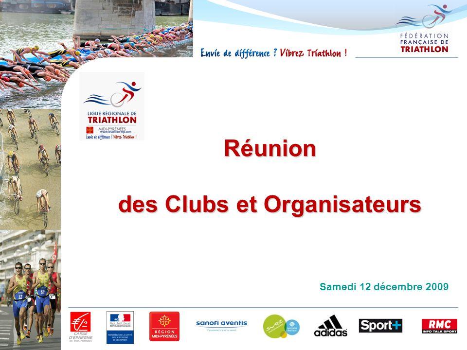 des Clubs et Organisateurs