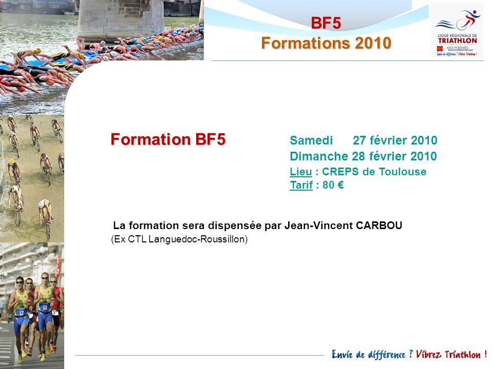 Formation BF5 Samedi 27 février 2010
