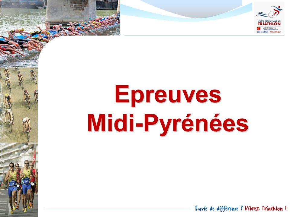 Epreuves Midi-Pyrénées