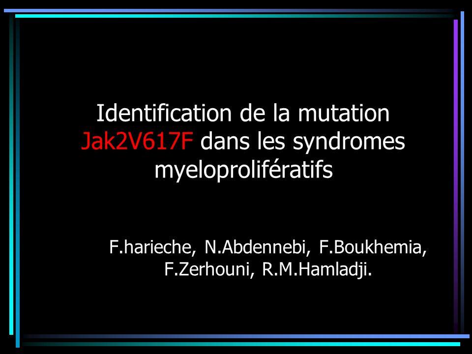 F.harieche, N.Abdennebi, F.Boukhemia, F.Zerhouni, R.M.Hamladji.