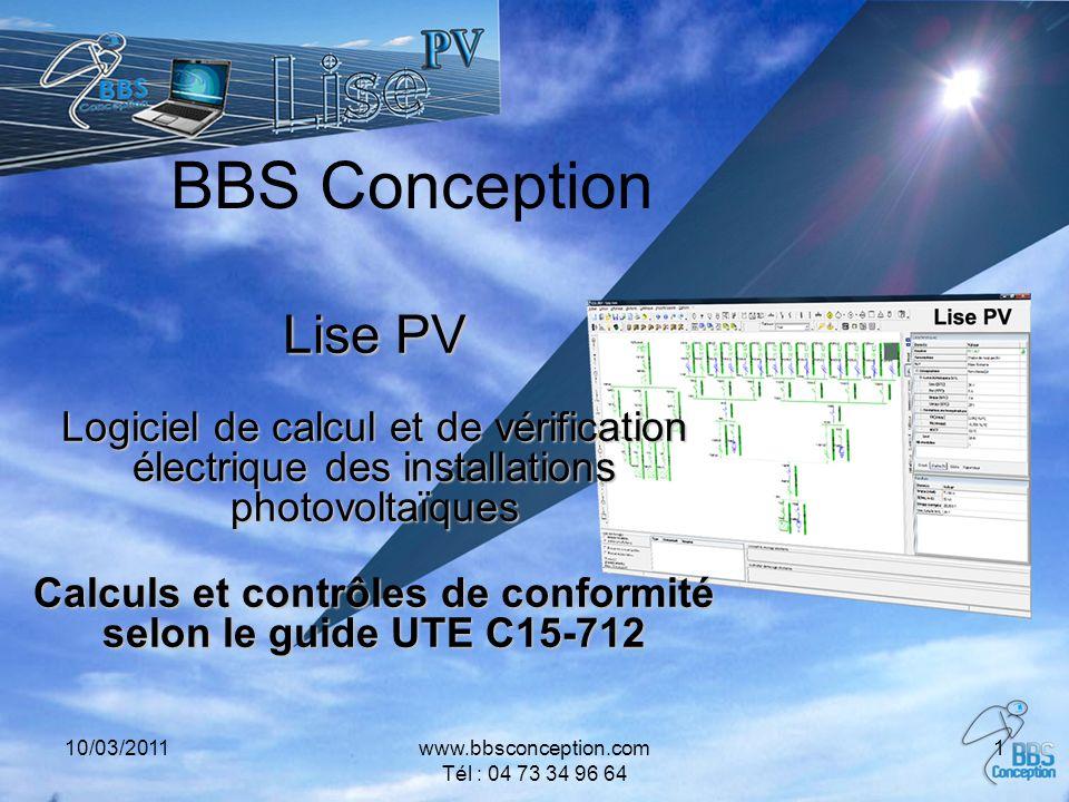 Calculs et contrôles de conformité selon le guide UTE C15-712