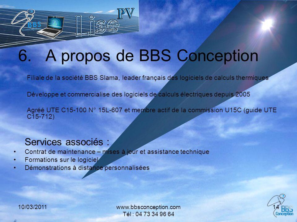 A propos de BBS Conception