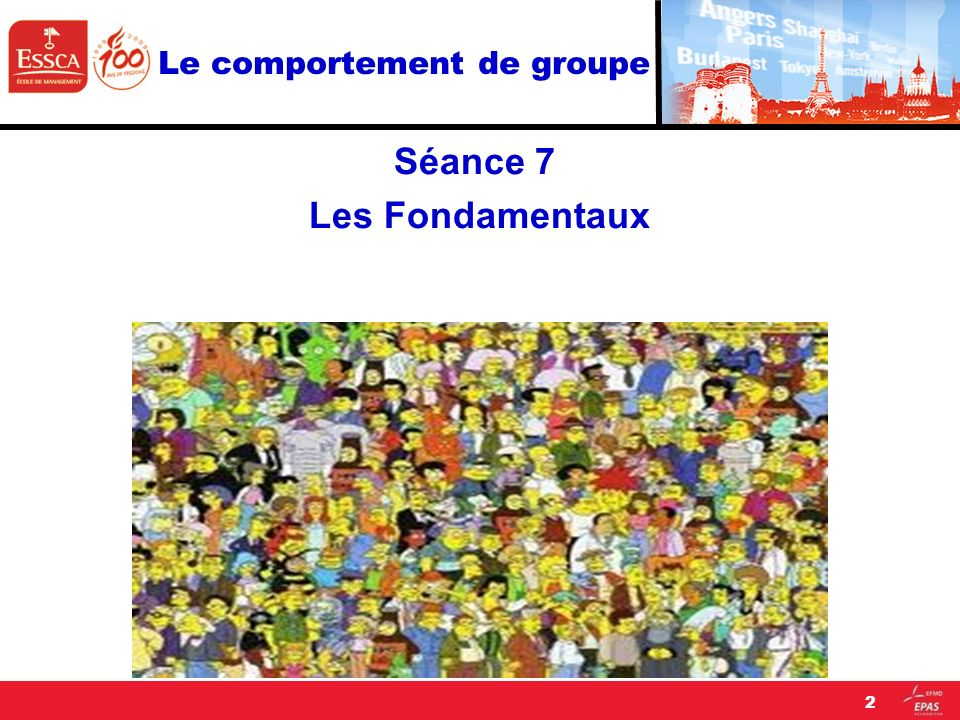 Le comportement de groupe