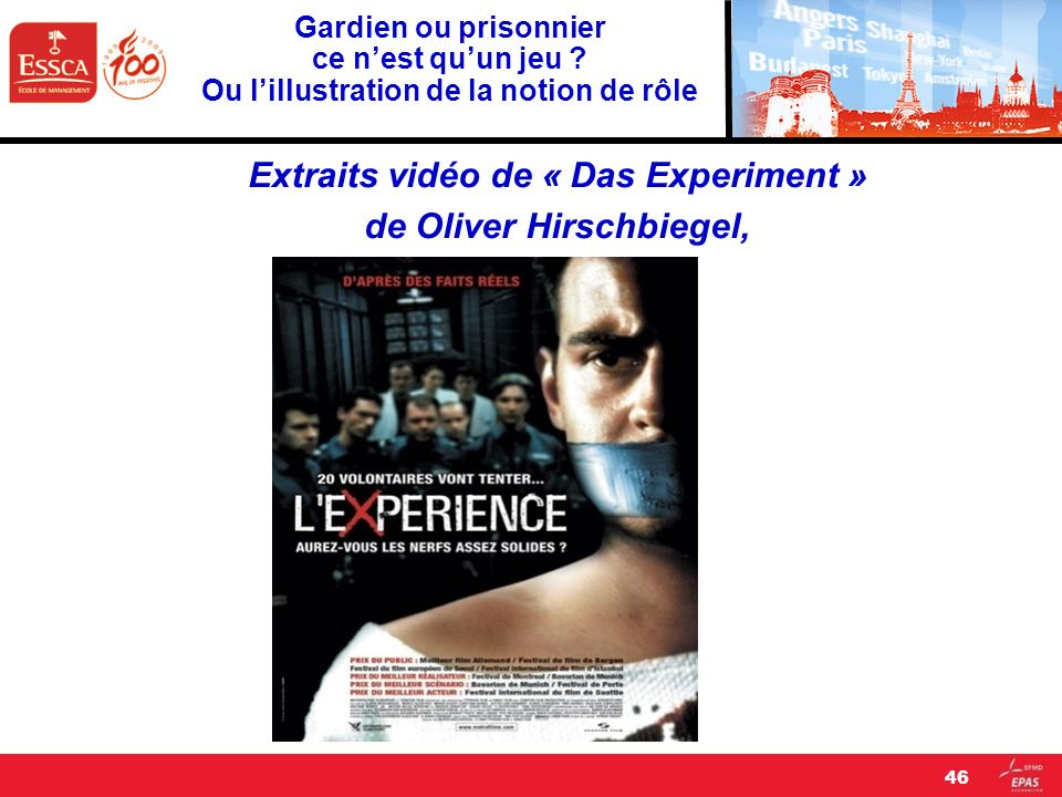 Extraits vidéo de « Das Experiment » de Oliver Hirschbiegel,