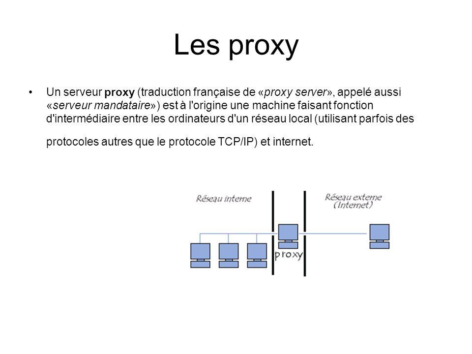 Les proxy