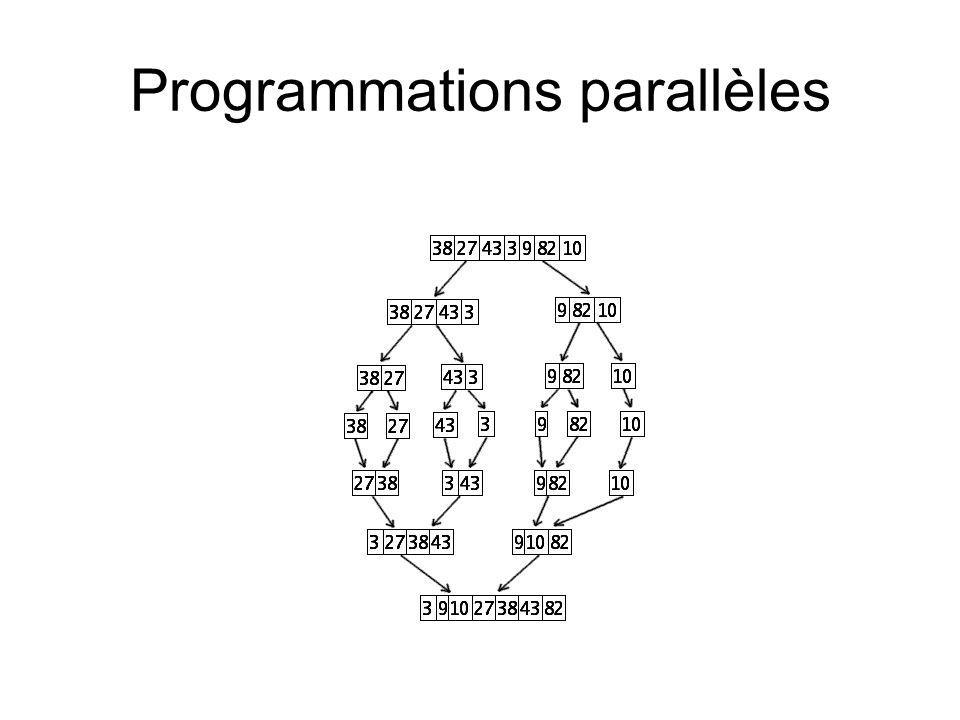 Programmations parallèles